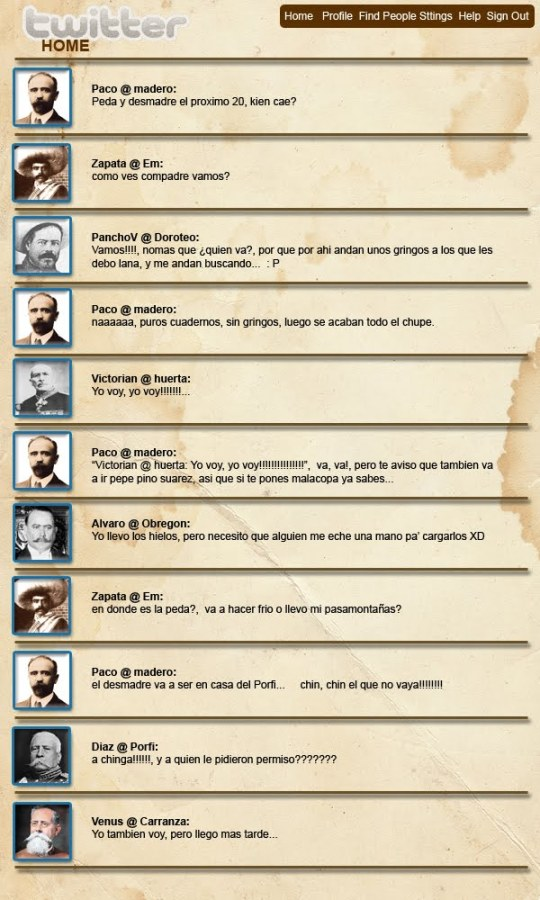 Twitter Revolucionario